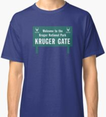 Welcome to the Kruger National Park Sign, South Africa Classic T-Shirt