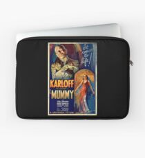 Mummy Boris Karloff Movie Vintage Poster Laptop Sleeve