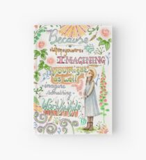 Anne of Green Gables quote                                                                                                 Hardcover Journal