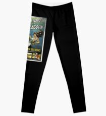 Creature From The Black Lagoon Vintage Poster Leggings