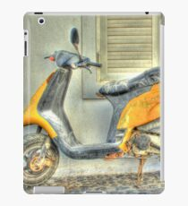 Yellow Moped iPad Case/Skin