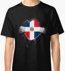 Dominican Republic Flag  Classic T-Shirt