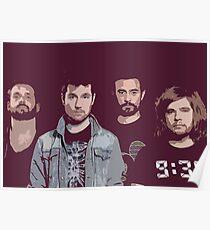 Bastille (band) - Digital Painting Poster
