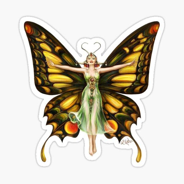 Butterfly Flapper Sticker