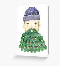 Hipster Christmas Greeting Card