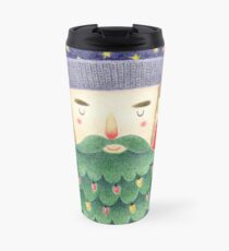 Hipster Christmas Travel Mug
