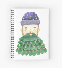 Hipster Christmas Spiral Notebook