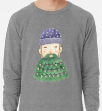 Hipster Christmas Lightweight Sweatshirt