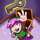 Link finds a Key by Brian Farrar