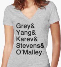 MAGIC Interns Women's Fitted V-Neck T-Shirt