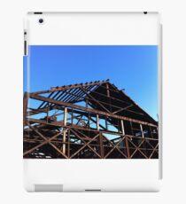 Skeleton frame heritage industrial building Vancouver BC iPad Case/Skin