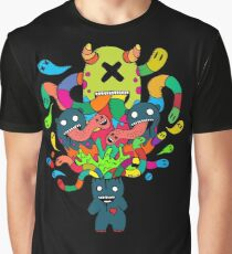 Monster Brains Graphic T-Shirt