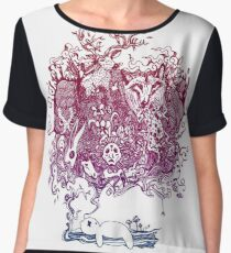 Dreaming Bear  Women's Chiffon Top