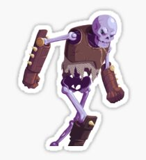 Skeleton Warrior Sticker
