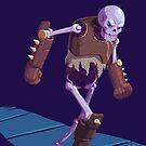 Skeleton Warrior by Brian Farrar