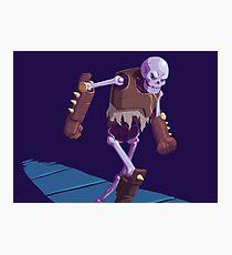 Skeleton Warrior Photographic Print