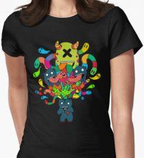 Monster Brains Women's Fitted T-Shirt