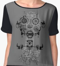 Ghost In The Machine Chiffon Top