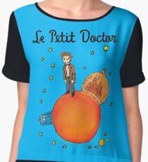 The Little Doctor Women's Chiffon Top