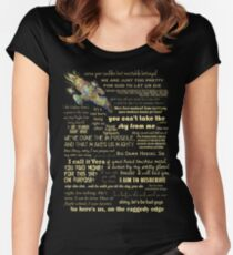 Firefly quotes Women's Fitted Scoop T-Shirt