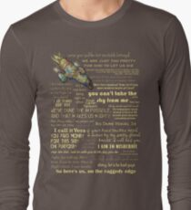 Firefly quotes Long Sleeve T-Shirt