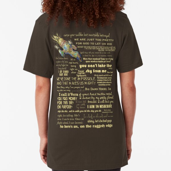 Firefly quotes Slim Fit T-Shirt
