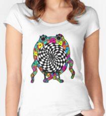 Warp Monster Women's Fitted Scoop T-Shirt