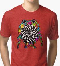 Warp Monster Tri-blend T-Shirt
