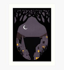Under Milk Wood Art Print