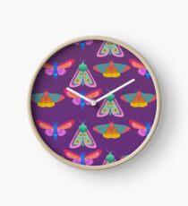 Moths Clock