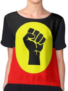 Aboriginal Australians Chiffon Top