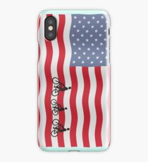 Cycling USA iPhone Case