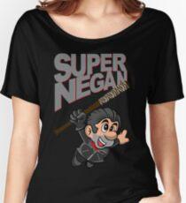SUPER NEGAN Women's Relaxed Fit T-Shirt