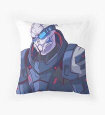 Garrus Vakarian Throw Pillow