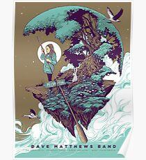 Dave Matthews Band, Tour 2016, Perfect Vodka Amphitheatre West Palm Beach FL Poster