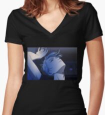 Majestic Victor Women's Fitted V-Neck T-Shirt