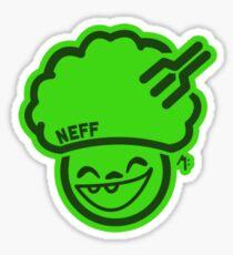 Neff Hippie Logo Sticker