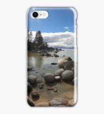 Sunlight Streaming Down at Lake Tahoe iPhone Case/Skin