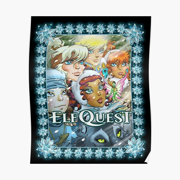 Elfquest Winter Special (Bordered) Poster
