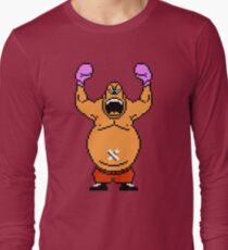 Camiseta de manga larga Rey Hippo sprite