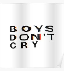 Frank Ocean BOYS DONT CRY Poster