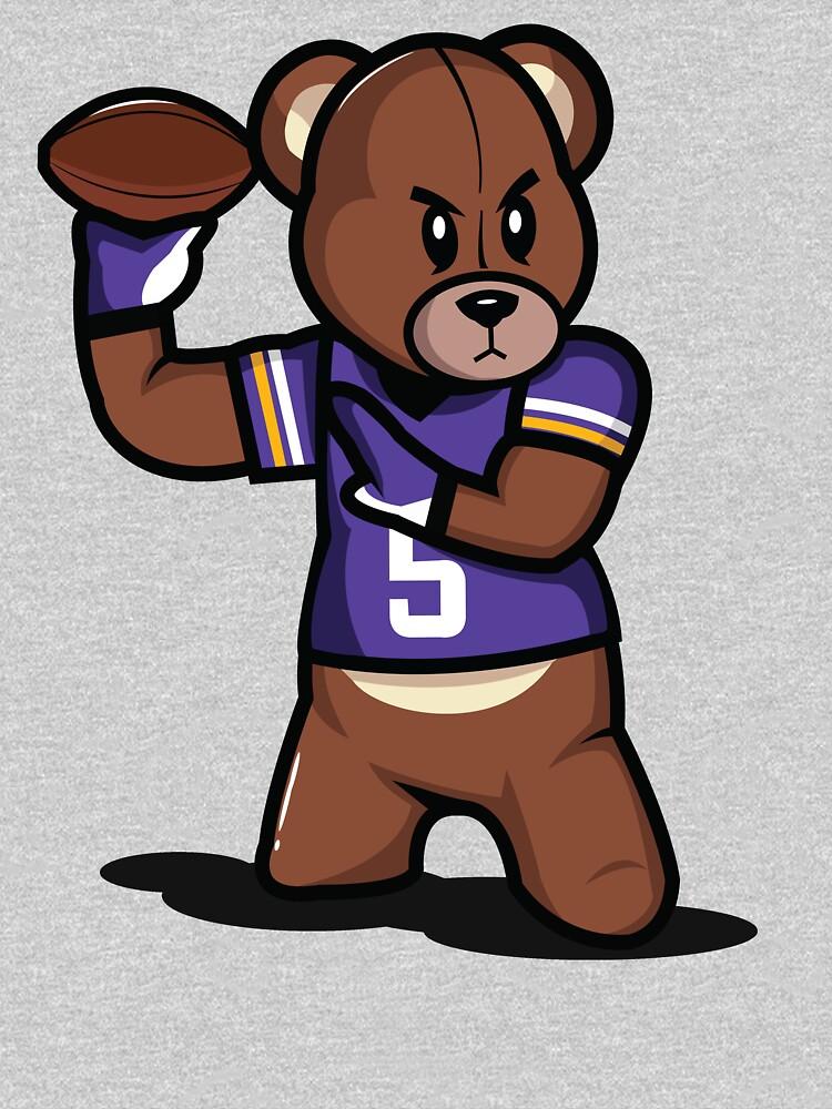 TShirtGifter presents: VICTRS - Teddy Football | Unisex T-Shirt
