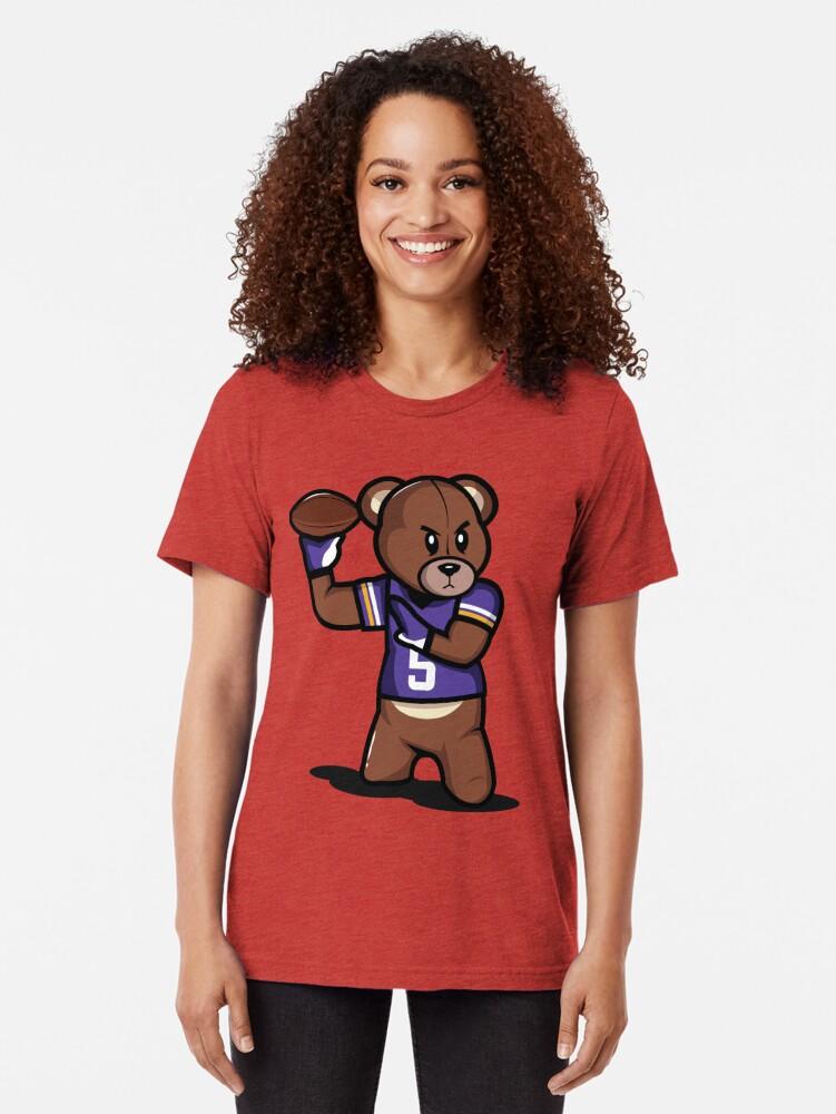 Alternative Ansicht von VICTRS - Teddy Football™ Vintage T-Shirt