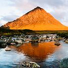 Stob Dearg at Sunrise by Mark Greenwood