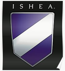 Ishean Coat of Arms Poster