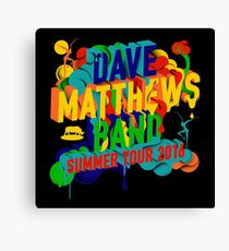 Dave Matthews Band, Tour 2016 Canvas Print