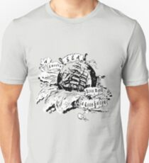 A smooth sea never made a good sailor Unisex T-Shirt