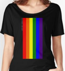 Rainbow Loving Someone Women's Relaxed Fit T-Shirt