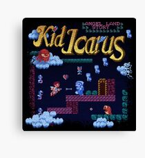 Icarus Kid Canvas Print