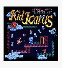 Icarus Kid Photographic Print